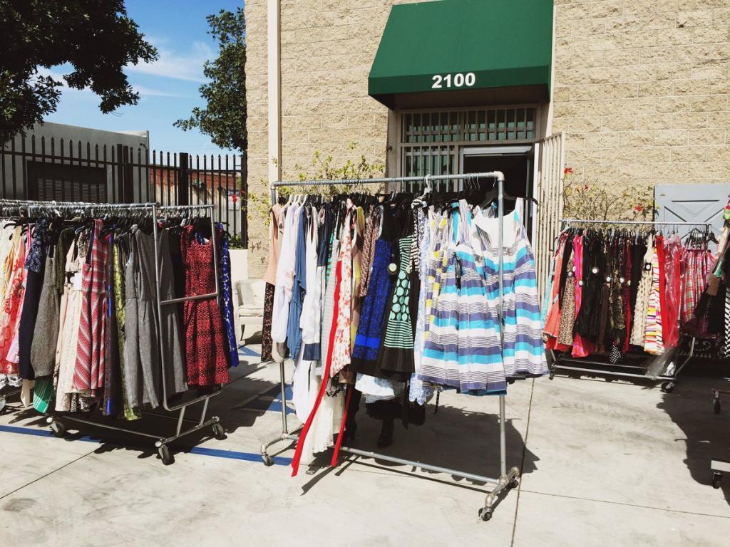 Eva Franco Sample Sale, Los Angeles, June 2016