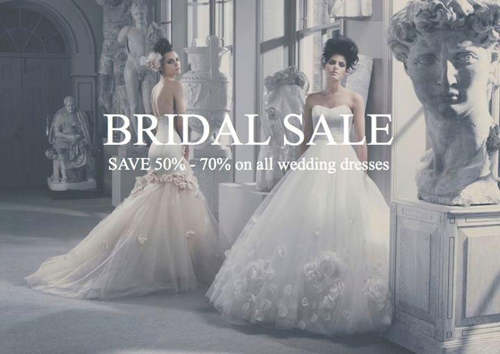 The Couture Gallery Bridal Sample Sale, London, September 2016