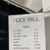Alex Mill Sample Sale
