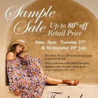 Temperley  Sample Sale