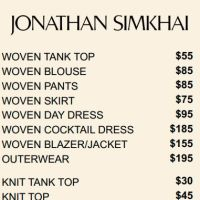 Jonathan Simkhai Sample Sale